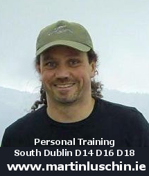 Personal Trainer in South Dublin Foxrock Deansgrange Cabinteely Leopardstown Sandyford The Gallops Stillorgan South Dublin D18 D16 D14 Martin Luschin
